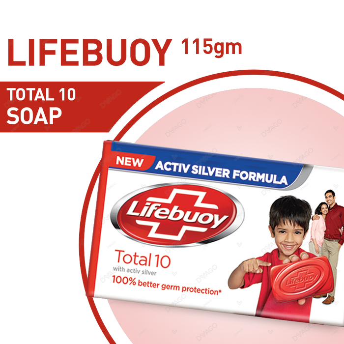Lifebouy  Germ Protection Soap Total 10  112GM