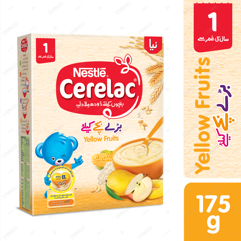 Nestle Cerelac Yellow Fruits 175g