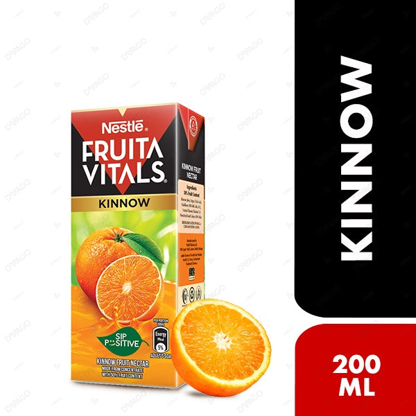 Nestle Fruita Vitals Kinnow Fruit Nectar 200ml
