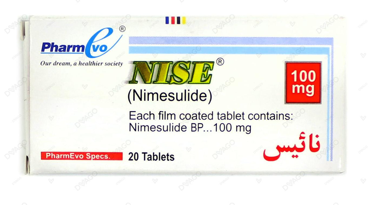 Nise Tablets 20's