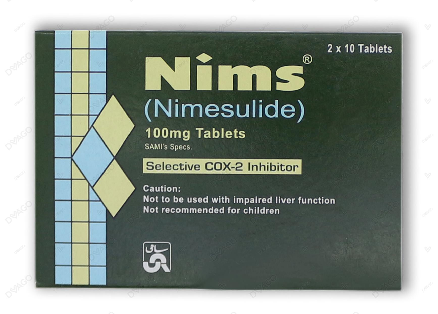 Nims Tablets 20's