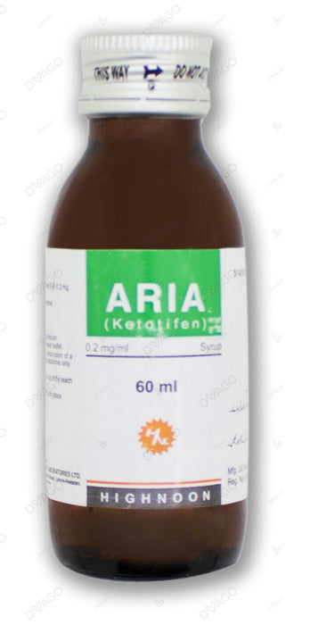 Aria Syrup 60ml