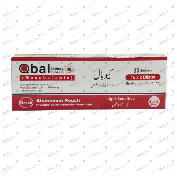 Qbal Tablets 2X15's