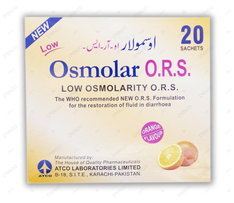 Osmolar Powder 20's