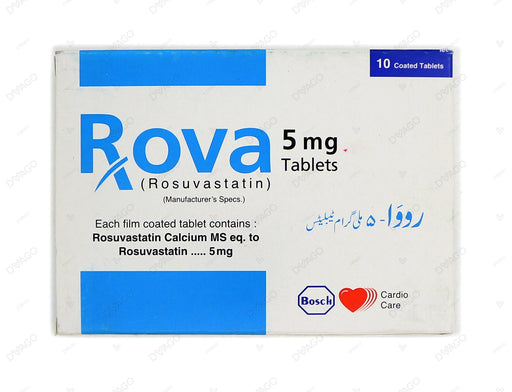 Rova Tablets 5mg 10's