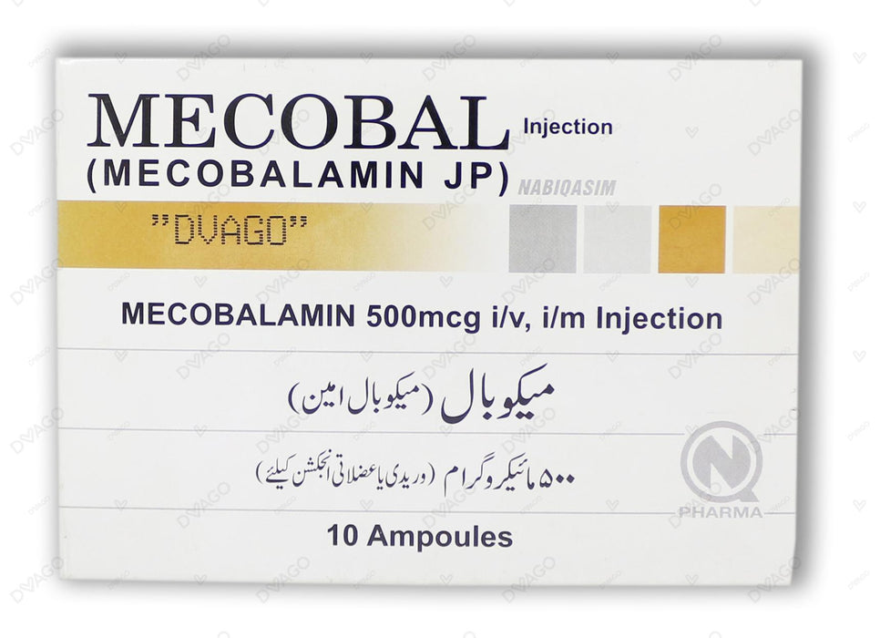 Mecobal Injection 10 Ampoules