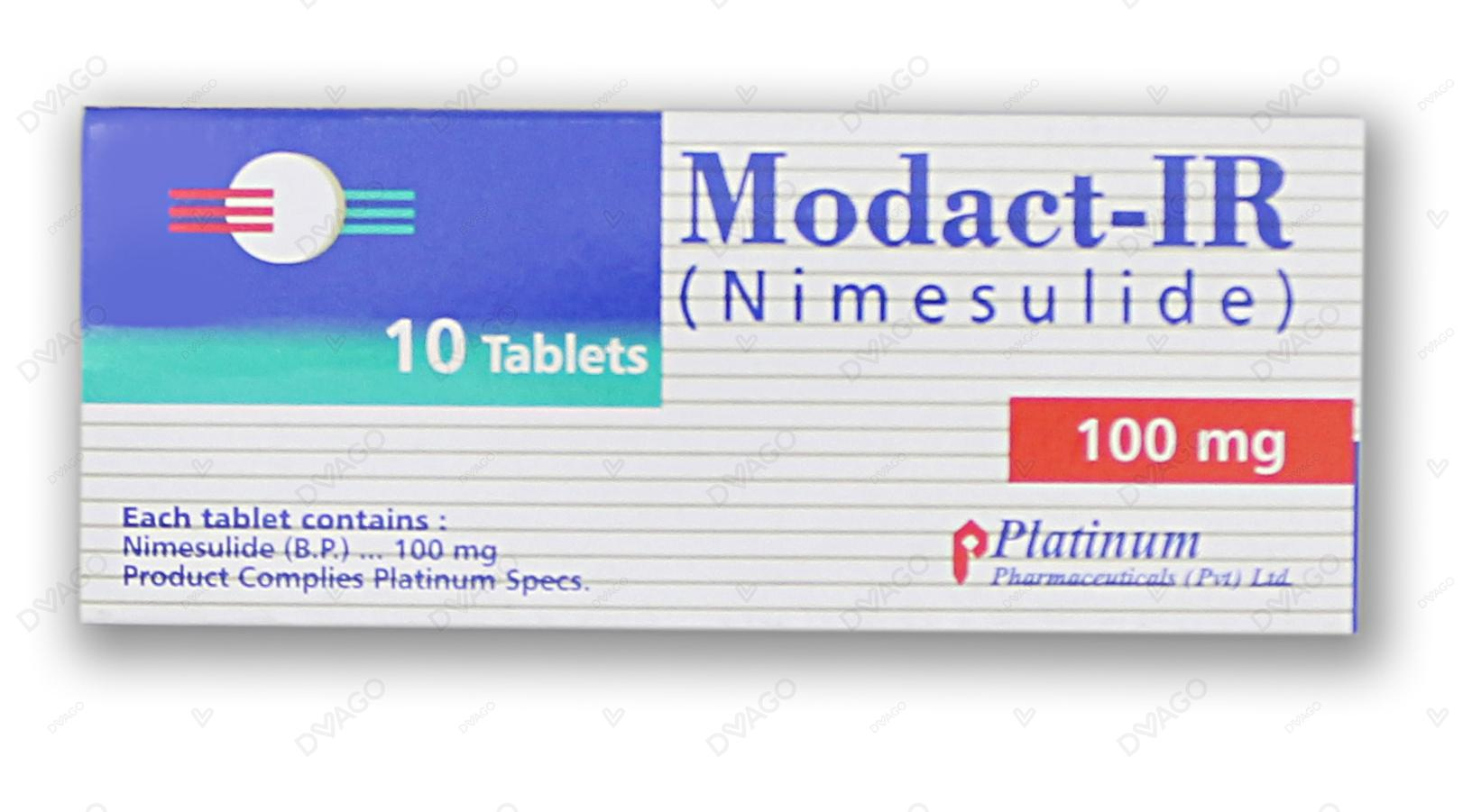 Modact-Ir Tablets 10's