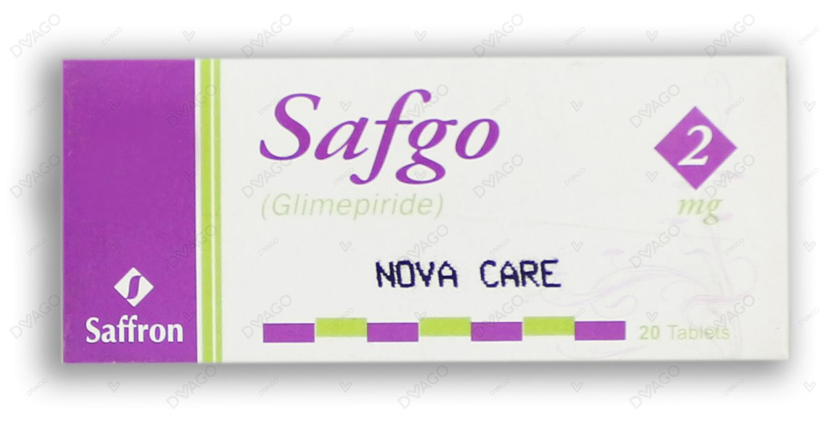 Safgo 2mg Tablets 20's