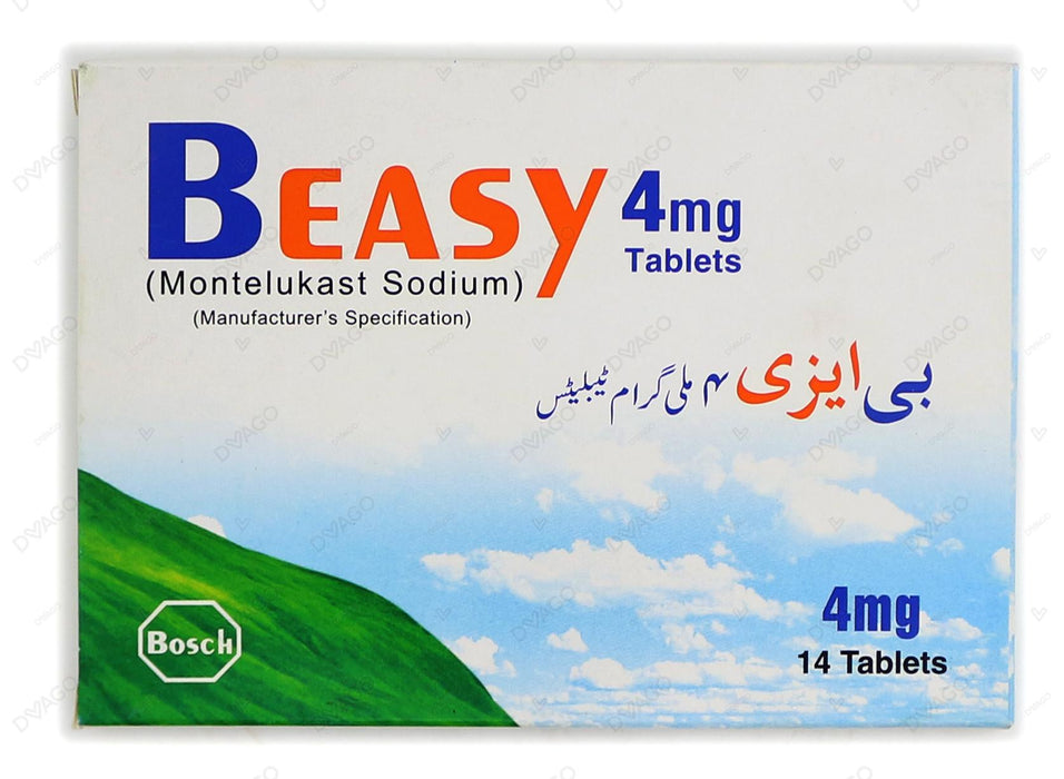 Beasy Tablets 4mg 14's