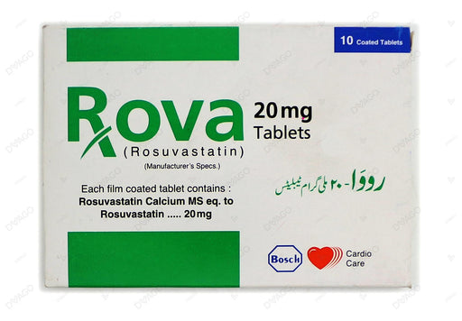 Rova Tablets 20mg 10's
