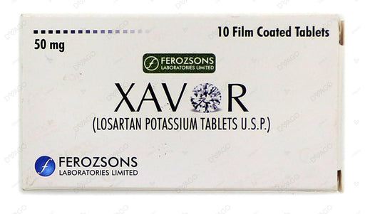 Xavor 50mg Tablets 10's