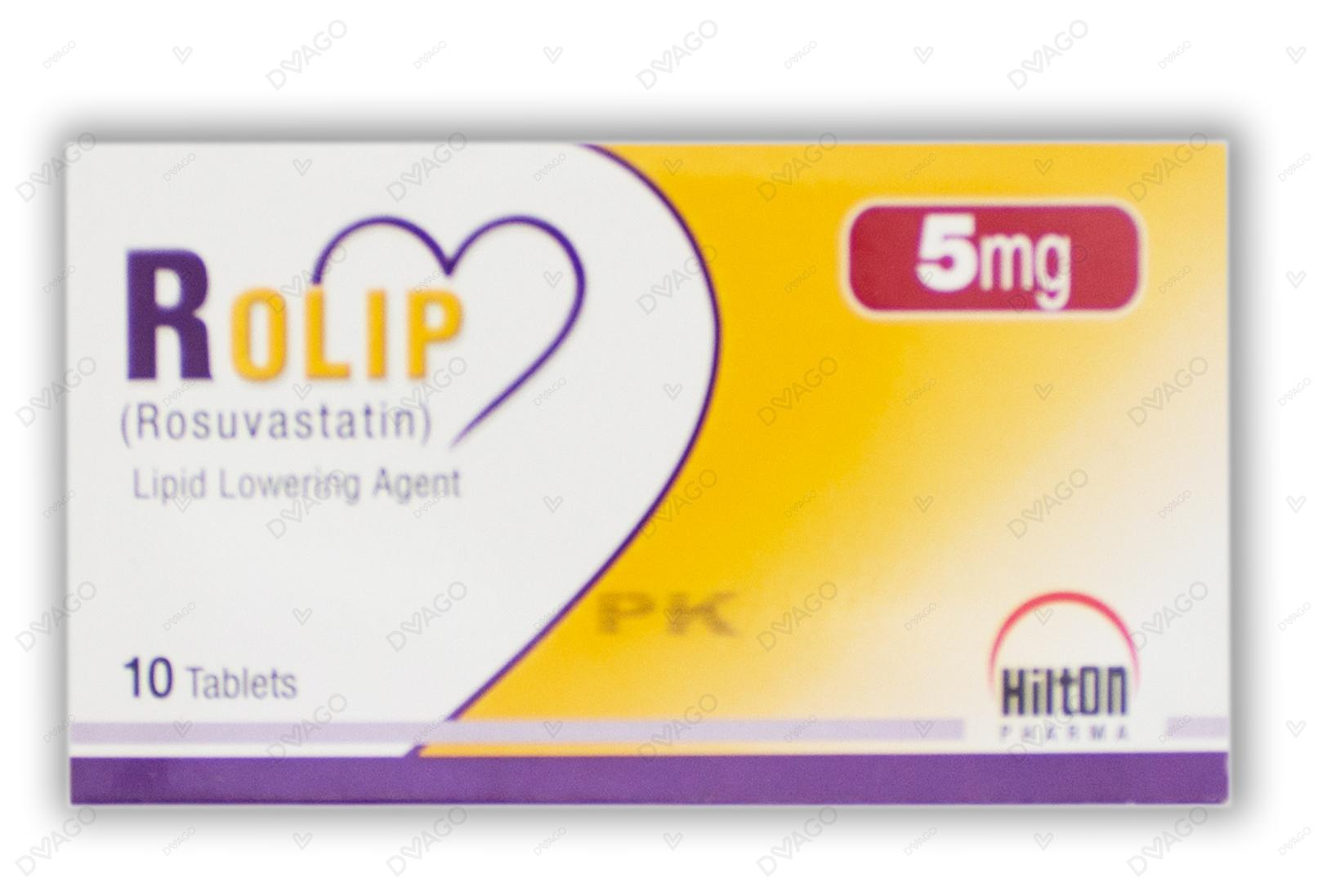 Rolip Tablets 5mg 10's
