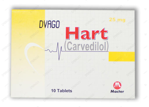 Hart Tablets 25mg 10's
