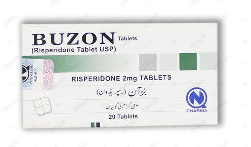 Buzon Tablets 2mg 20's