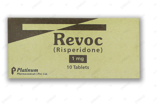 Revoc Tablets 1mg 10's