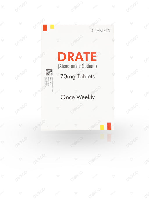 Drate Tablets 70mg 4's