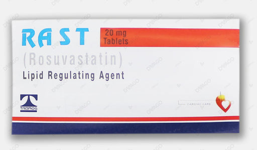 Rast Tablets 20mg 10's