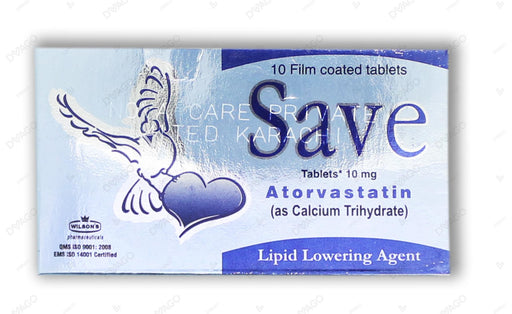 Save Tablets 10mg 10's