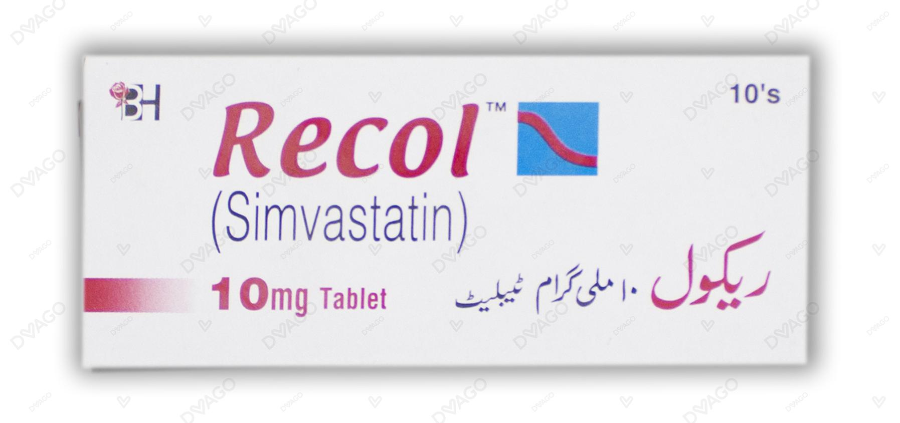 Recol Tablets 10mg 10's