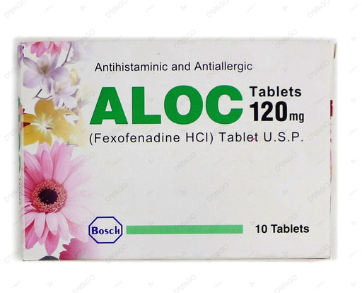Aloc Tablets 120mg 10's