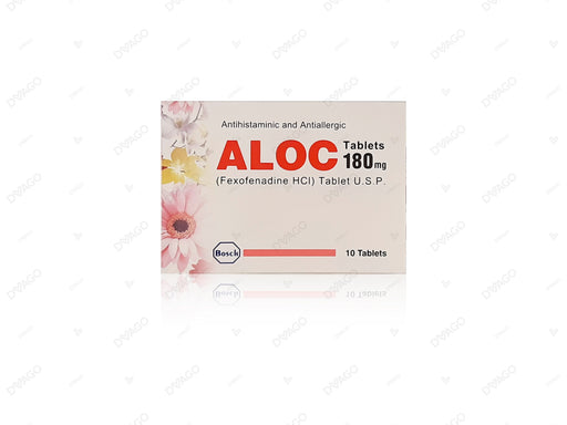 Aloc Tablets 180mg 10's