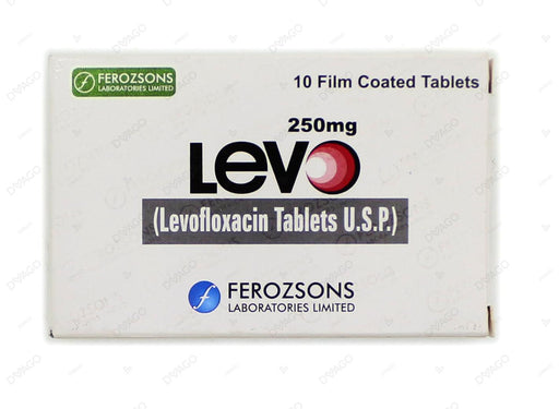 Levo Tablets 250mg 10's