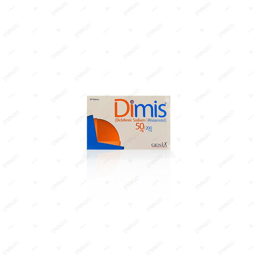Dimis Tablets 50mg 20's