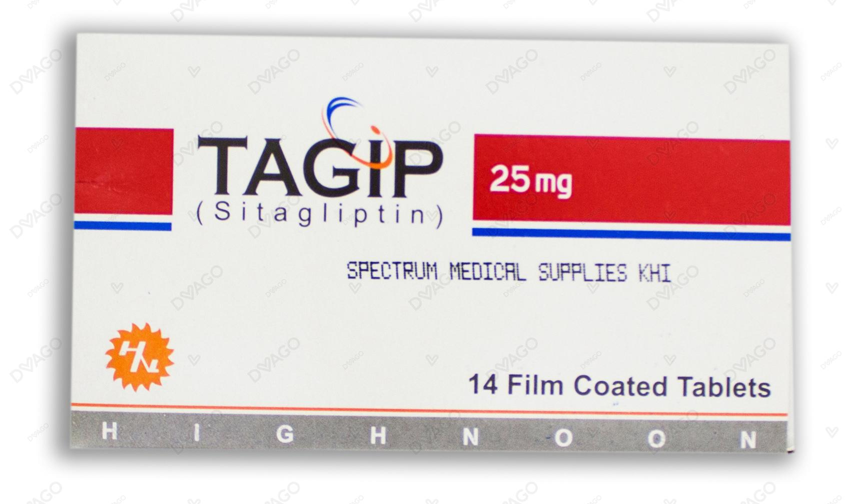 Tagip Tablets 25mg 14's