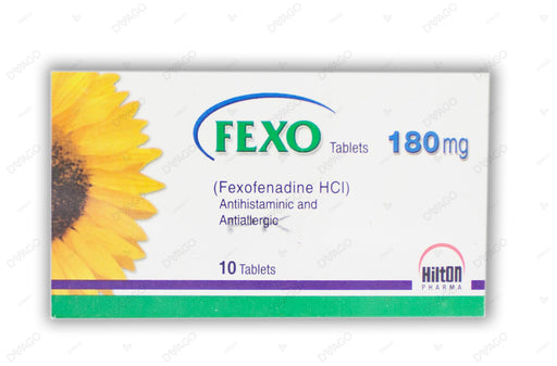 Fexo Tablets 180mg 10's
