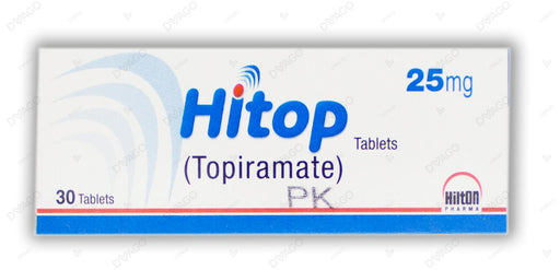 Hitop Tablets 25mg 30's