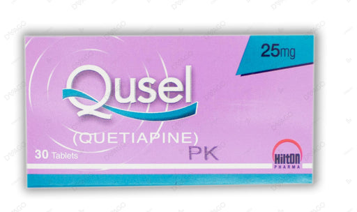 Qusel Tablets 25mg 30's