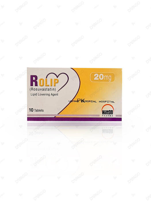 Rolip Tablets 20mg 10's