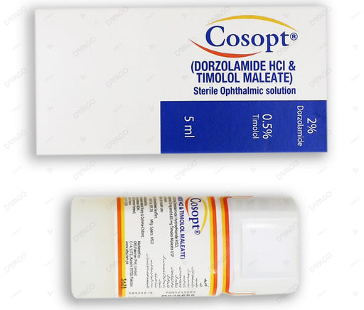 Cosopt Eye Drop 5ml