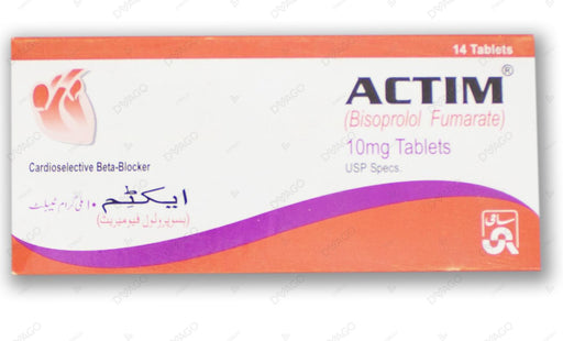 Actim Tablets 10mg 14's