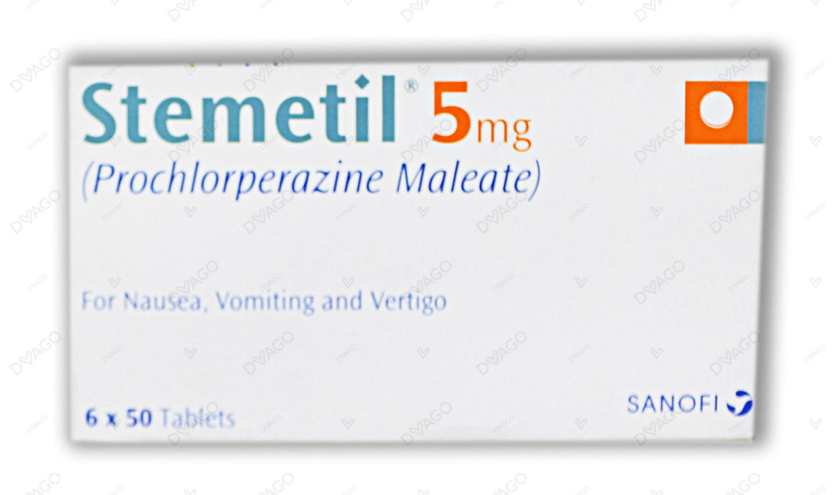 Stemetil Tablets 15X20's