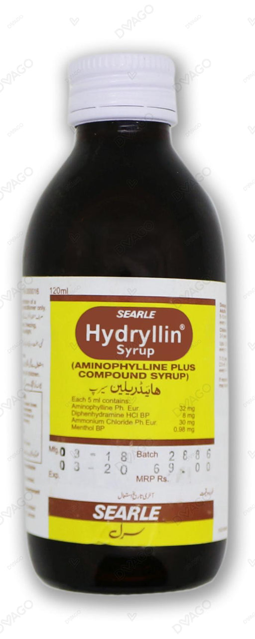 Hydryllin Syrup 120ml