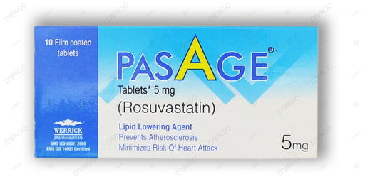 Pasage Tablets 5mg 10's