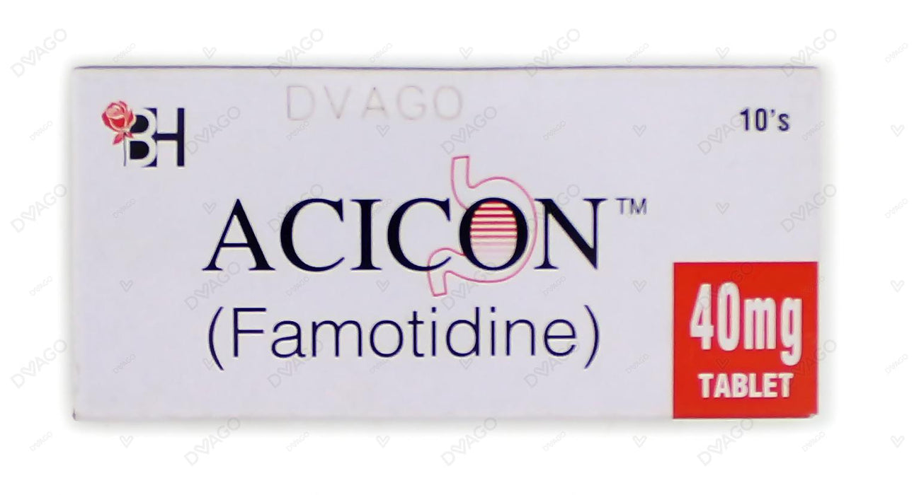 Acicon Tablets 40mg 10's