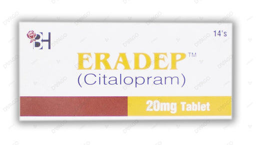 Eradep Tablets 20mg 14's