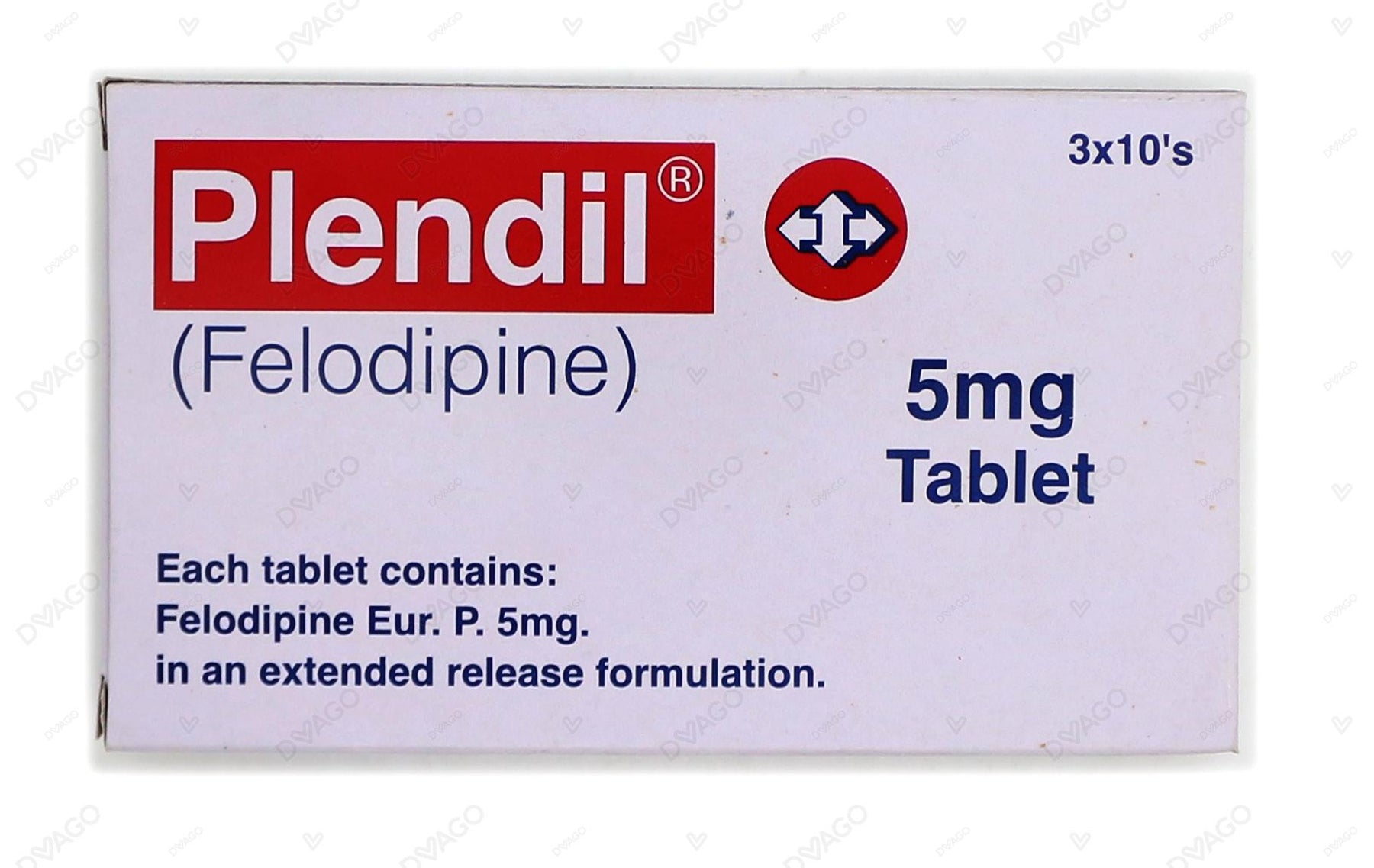 Plendil Tablets 5mg 30's