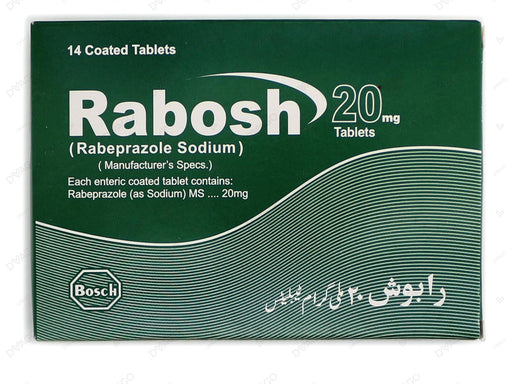 Rabosh Tablets 20mg 14's