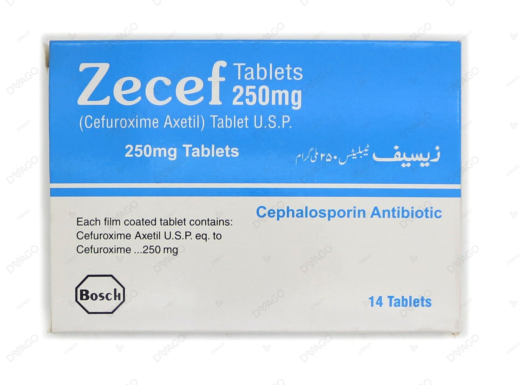 Zecef Tablets 250mg 14's