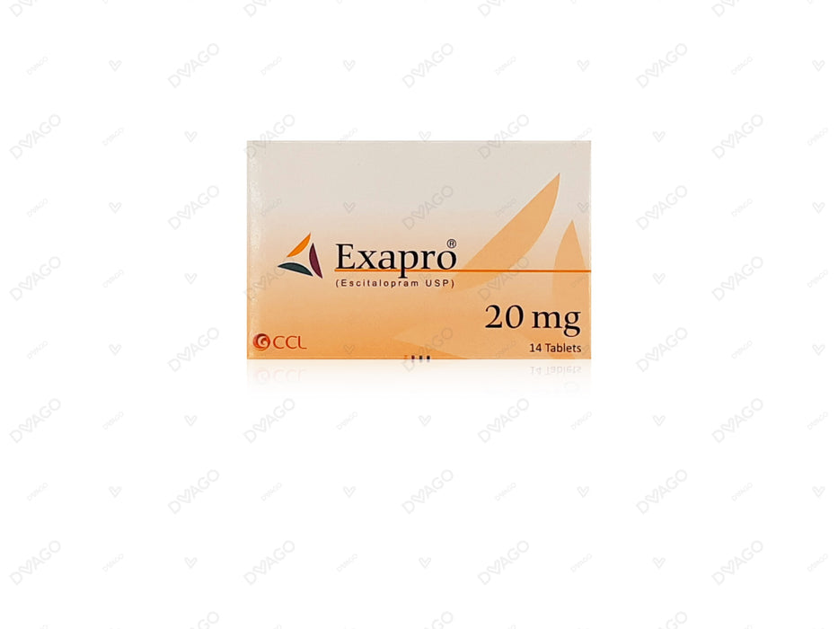 Exapro Tablets 20mg 14's
