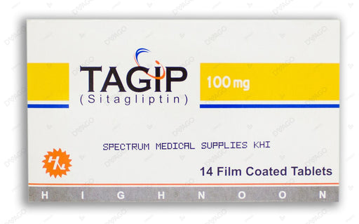 Tagip Tablets 100mg 14's