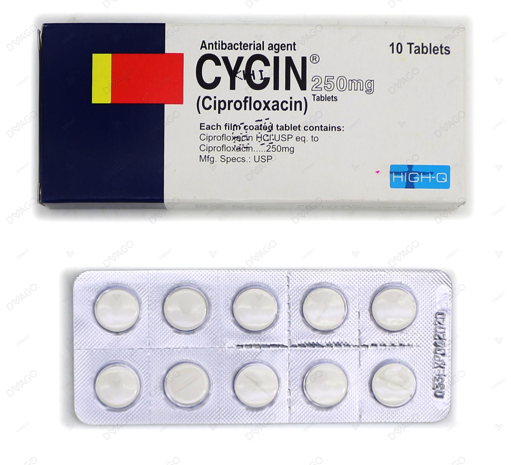 Cycin Tablets 250mg 10's