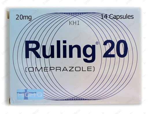 Ruling Capsules 20mg 14's