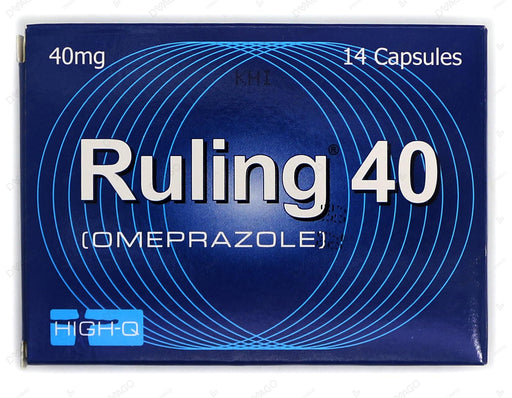 Ruling Capsules 40mg 14's