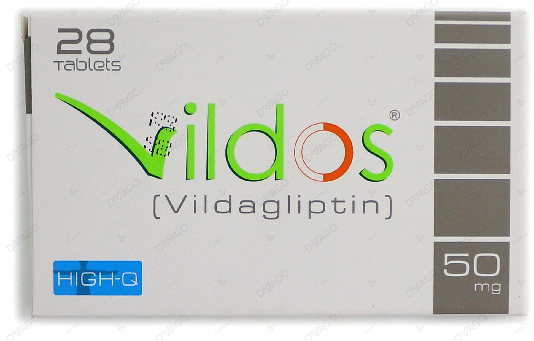 Vildos Tablets 50mg 28's