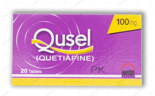 Qusel Tablets 100mg 20's