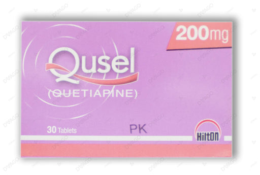 Qusel Tablets 200mg 30's